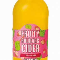 Cider 500ml – Fruity Rhubarb (Rhu-dely Good 4%)