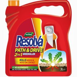 Resolva Path & Drive Weedkiller 3L Ready To Use