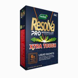 Resolva Pro Weedkiller Liquid Sachets Xtra Tough 6x100ml
