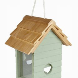 Beach Hut Seed Feeder
