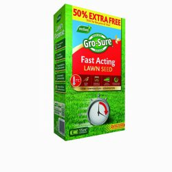 Gro-Sure Fast Acting Lawn Seed 10m2 +50% Extra