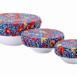 Stretch Bowl Covers Triple Pack – Villa Bright Flower