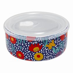 Microwave Food Bowl 16cm – Villa Blue Floral