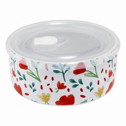 Microwave Food Bowl 16cm – Villa White Floral
