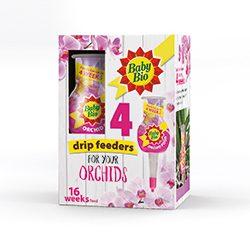 Baby Bio Orchid Drip Feeders 4x40ml