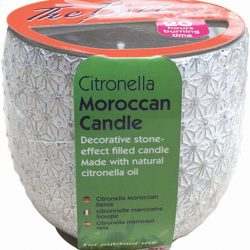 The Buzz Citronella Moroccan Candle
