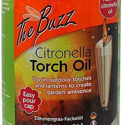 The Buzz Citronella Torch Oil