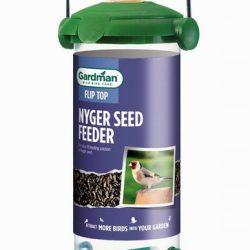 Flip Top Nyger Seed Feeder