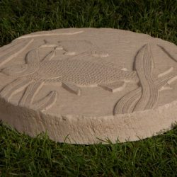 Animal Fish Stepping Stone Bath Buff