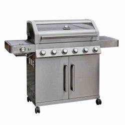 Grillstream Gourmet 6 Burner Hybrid BBQ – Stainless Steel