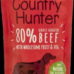 Country Hunter Pouch Grass Grazed Beef For Dogs 150g
