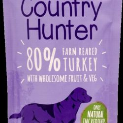 Country Hunter Pouch Farm Reared Turkey For Dogs 150g