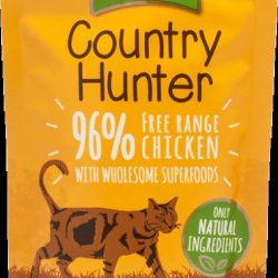 Country Hunter Pouch Free Range Chicken For Cats 85g