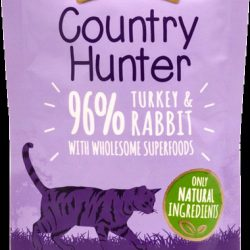 Country Hunter Pouch Turkey & Rabbit For Cats 85g