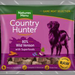 Country Hunter Frozen Wild Venison Nuggets 1kg