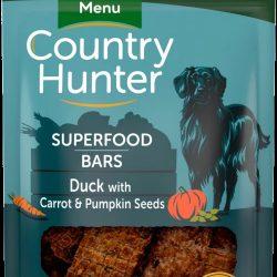 Country Hunter Superfood Bars Duck, Carrot & Pumpkin Seeds 100g