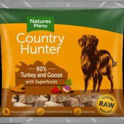 Country Hunter Frozen Turkey & Goose 1kg