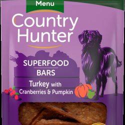 Country Hunter Superfood Bars Turkey, Cranberries & Pumpkin 100g