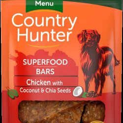 Country Hunter Superfood Bars Chicken, Coconut & Chia Seeds 100g