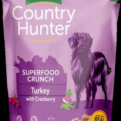 Country Hunter Superfood Crunch Turkey With Cranberry 1.2kg