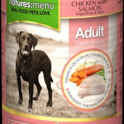 Natures Menu Can Chicken & Salmon For Adult Dogs 400g