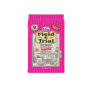 Field & Trial Puppy Lamb & Rice 2.5kg