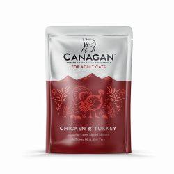 Canagan Cat Pouch – Chicken & Turkey 85g