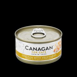 Canagan Cat Can – Chicken with Vegetables 75g
