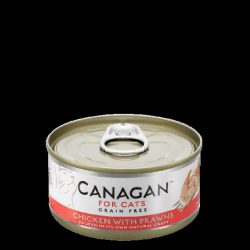 Canagan Cat Can – Chicken with Prawns 75g