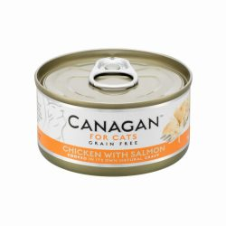 Canagan Cat Can – Chicken with Salmon 75g