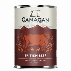 Canagan Can – British Braised Beef For Dogs 400g