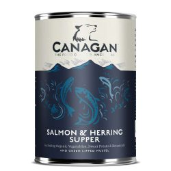 Canagan Can – Salmon & Herring Supper For Dogs 400g