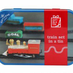 Train Set In A Tin
